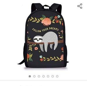 Handbags - Kids Teen Sloth backpack purse